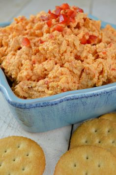 Our homemade Pimento Cheese Dip is a classic southern appetizer that's easy to make a crowd-pleasing favorite! Also known as the caviar of the south! Homemade Pimento Cheese, Pimento Cheese Recipes, Pimento Cheese Recipe Pioneer Woman, Pimiento Cheese, Cheese Dips, Cheese Salad, Appetizer Dips, Yummy Appetizers, Appetizer Recipes