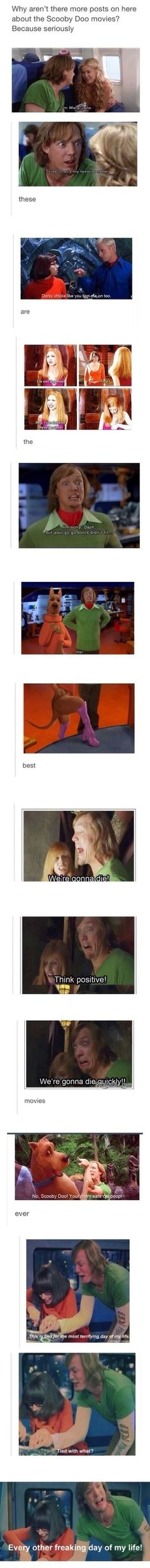I love Scooby-Doo so much