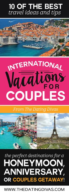 100 romantic vacations and honeymoons trips romantic for Romantic weekend getaway ideas
