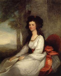 Eleanor Gordon, ca. 1783-1784 by   Gilbert Stuart.    [Image] Self portrait, 1785.    Gilbert Stuart was an American portrait painter who lived between 1755 and 1828.    Gilbert Stuart