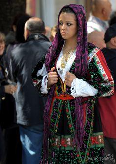 costume lula - cavalcata sarda 2010