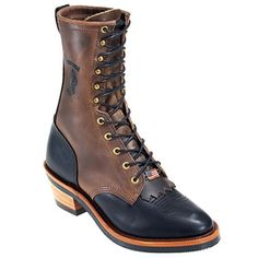 Chippewa Boots Men's Steel Toe 29409 USA-Made Work Boots