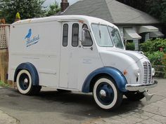 americabymotorcycle: Bluebird Ice cream Truck by bballchico on...