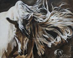 Toiles passées - past paintings — Elise Genest Painted Horses, Horse Drawings, Animal Drawings, Arte Equina, Horse Oil Painting, Beautiful Arabian Horses, Horse Illustration, Horse Artwork, Painted Pony