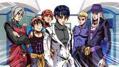 [Anime Part At least, Bucci gang blends in to the crowd Comic Character, Character Design, Relaxing Art, Jojo Parts, Sailor Moon Character, Jojo Memes, Best Waifu, Jojo Bizzare Adventure, Jojo Bizarre