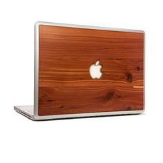 wooden macbook skins. I'm pretty sure this one item could convince me to buy a Mac...