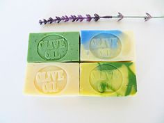Soap samples  Handmade Guest Soaps  Olive Oil by AromaScentsLLC