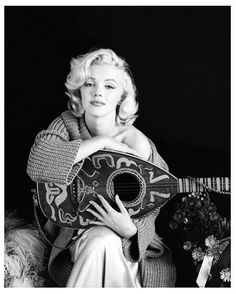 MM, photographed by Milton Greene in 1953
