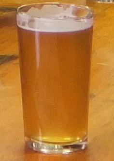Straight half pint glass at Brixton Brewery