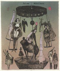 イメージ2 - Katarina Vavrova (8)の画像 - 蔵書票の世界 - Yahoo!ブログ