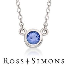 Love this #Tanzanite Necklace
