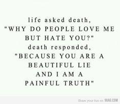 life/death quote