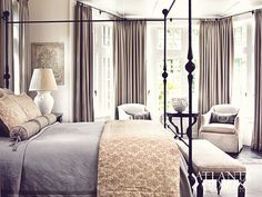 dustjacketattic:  photo emily followill Grey and beige fabrics, black furnishings