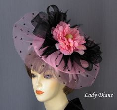 """Kentucky Derby Hat of the Day - """"Sharon"""" by Lady Diane Hats"""