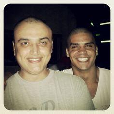 Anselmo e Alex, no Livre.