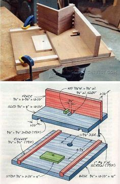 Finger Joint Jig Plans - Joinery Tips, Jigs and Techniques | WoodArchivist.com #WoodworkingTools
