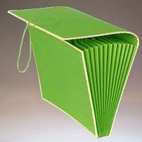 WK Akkordeon A4 lindgrün 12 - Artikeldetailansicht - Ihr Semikolon Onlineshop
