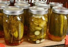 Pickles -- canning