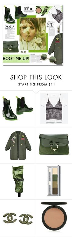 """""""Untitled #112"""" by biinabnab ❤ liked on Polyvore featuring Jeffrey Campbell, WithChic, J.W. Anderson, Aesop, Anja, Clinique, Chanel, Topshop and ZeroUV"""