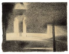 The Gateway, 1882-84, Georges Seurat