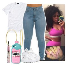 """""""✨"""" by saucinonyou999 ❤ liked on Polyvore featuring Polo Ralph Lauren, Bling Jewelry and NIKE"""