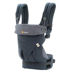 ErgoBabyUSA Four Position 360 Baby Carrier Bundle of Joy in Dusty Blue with Easy Snug Infant Insert Grey The Ergobaby 360 Carrier's innovative design features a Baby Registry List, Ergonomic Baby Carrier, Ergo Carrier, Black Camel, Baby Head, Baby Size, Dusty Blue, Our Baby, Baby Baby
