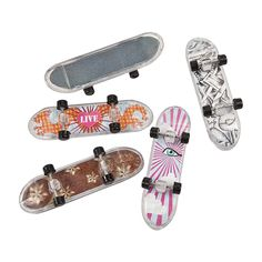 Mini Skateboards - OrientalTrading.com-Optional Prize for LG on Week #1