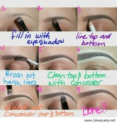 Eyebrows are important for us