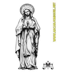 Nossa Senhora   SÃO MIGUEL ARCANJO   http://www.arcanjomiguel.net  Combatentes SMA - Arcanjomiguel-NET