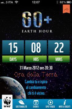 Ora del WWF. Preparati all'ora della Terra e scopri quanto sei sostenibile con questa app gratuita per iPhone.