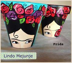 Frida planter!