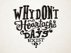 Hand lettering for The Mindy Project by Katy   Typography   Lettering   Design