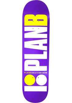 Plan-B Team-OG, Deck, purple Titus Titus Skateshop #Deck #Skateboard #titus #titusskateshop