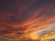 Sunset After Big Rainstorm, Fall 2012