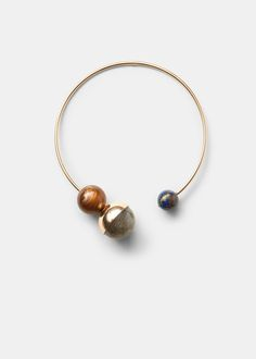 Ball rigid choker -  Women | MANGO