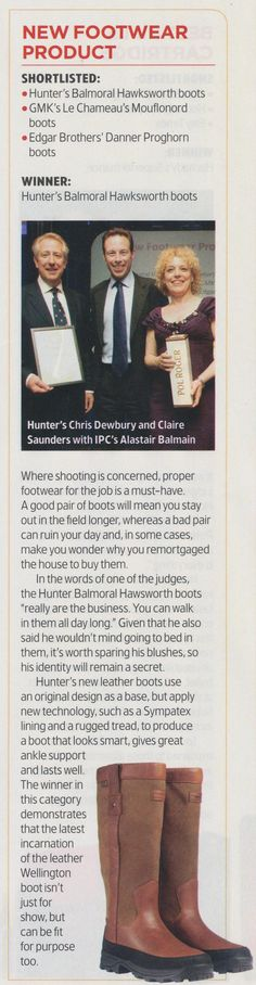 Hunter Balmoral Hawksworth Boots - http://www.countryattire.com/hunter-balmoral-hawksworth-wellington-boots-brown.html