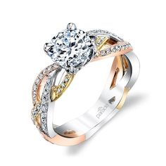 Mixed Metal Bling Is The Next Big Thing In Rings   Brides.com