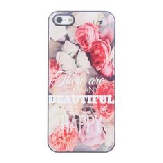 Coque iPhone 5/5S Beautiful Reasons to Be Happy