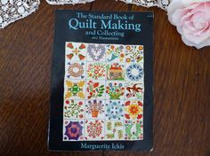 Quilt Making and Collecting by Marguerite Ickis 1959, Standard Book of Quilt Making and Collecting by MyFrenchTexas on Etsy