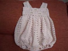 crochet rompers for babies - - Yahoo Image Search Results
