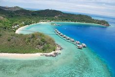 Fiji....I'd like one of those huts in the water please. Thank you very much :)