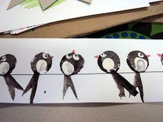 S dětmi ve školce si vyprávíme o podzimu, o počasí na podzim, o padání listů, sklízení ovoce a také o ptácích, kteří odlétají na jih. A ta... Animal Crafts For Kids, Spring Crafts For Kids, Autumn Crafts, Paper Crafts For Kids, Diy For Kids, Arts And Crafts, Bird Crafts, Bunny Crafts, Acrylic Painting For Kids