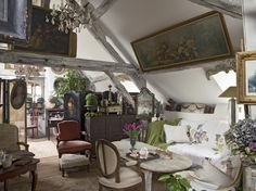 Eclectic home in Provence. love love love!