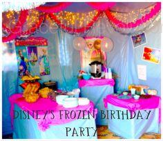 Disney Frozen Birthday Party Ideas Disney frozen birthday