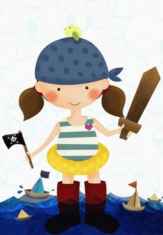Project of the Day: Pirate play date by Mabel Garcia