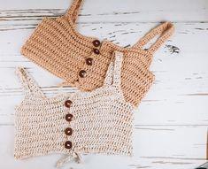 Crochet clothing times – Count (S: 15 STs Motif Bikini Crochet, Débardeurs Au Crochet, Mode Crochet, Crochet Halter Tops, Crochet Shirt, Crochet Crop Top, Diy Crochet Bralette, Crochet Top Outfit, Easy Crochet