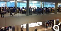 Apre il terzo piano dellApple Store di Hong Kong