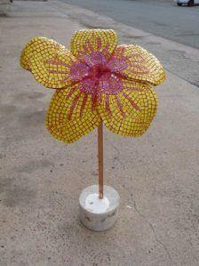 Big Tex and Big Flowers | Katrina Doran_Blog Space -Mosaic Flowers