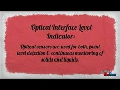 New and Old Liquid Level Indicator Technologies - YouTube
