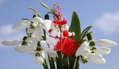 Happy Day of Spring in Europe! 1st Day Of Spring, Baba Marta, 8 Martie, Ikebana, Flower Arrangements, Folk Art, Art Drawings, Crafts For Kids, Birthdays